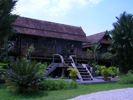 A Malay palace built without nails