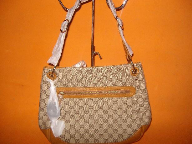 KW Tas Gucci Super Bahan Kanvas Handbag Bottega Kulit Premium