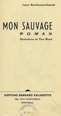 Page de titre de l'ouvrage de Denault