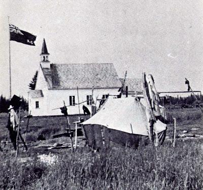WEMOTACI - La chapelle, sans doute vers 1925.
