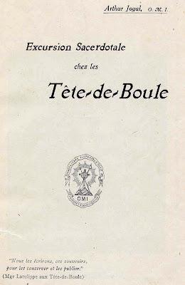 Page de titre de l'ouvrage de Joyal. 1915