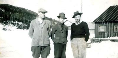 ÉMILE CANTIN (à droite) le 27 février 1946