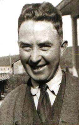 Jeremiah McCarthy, en 1934, à La Loutre. Photo gracieusement fournie par Patrick McCarthy.