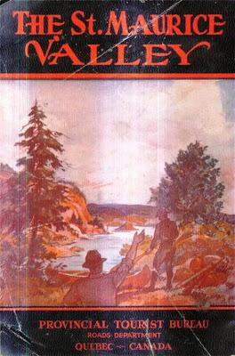 Brochure touristique du Québec. Vers 1940