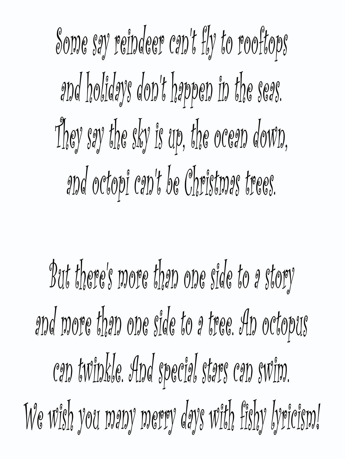 Fun Christmas Card Quotes Counter Christmas Photo