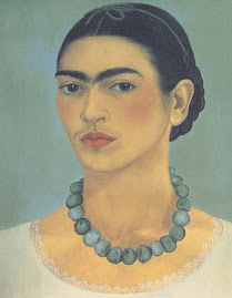 Frida Kahlo - Self-portrait with Necklace, 1933