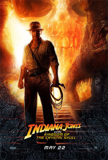 Indiana Jones and the kingdom of crystal scull poster