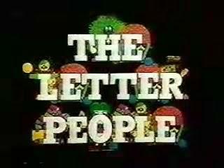 "Pop Culture Vomit Bag!: ""The Letter People"" (1972)"