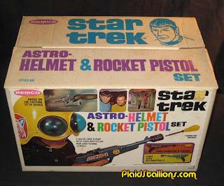 Excessivo: Coleção de brinquedos antigos do Star Trek