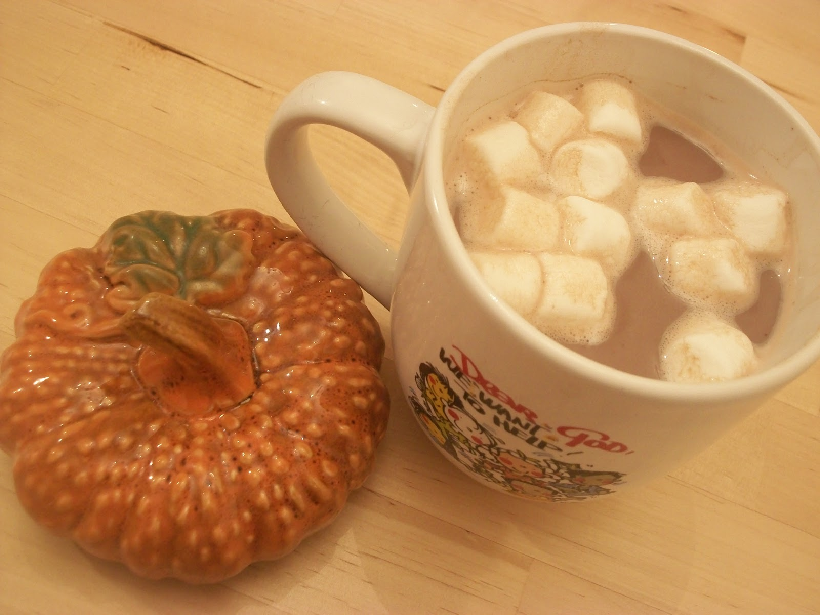Homemade Pumpkin Spice Hot Cocoa