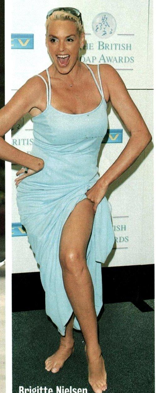Brigitte Nielsen Feet