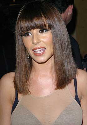 Cheryl Cole Trendy Bangs Hairstyle