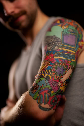 c2fa1b04bdbfc Hand Tattoes: Half Sleeve Tattoos
