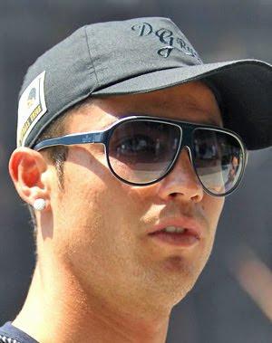 69987c141ee Ronaldo Gucci on Cristiano Ronaldo Gucci Sunglasses Celebrity Style  Sunglasses