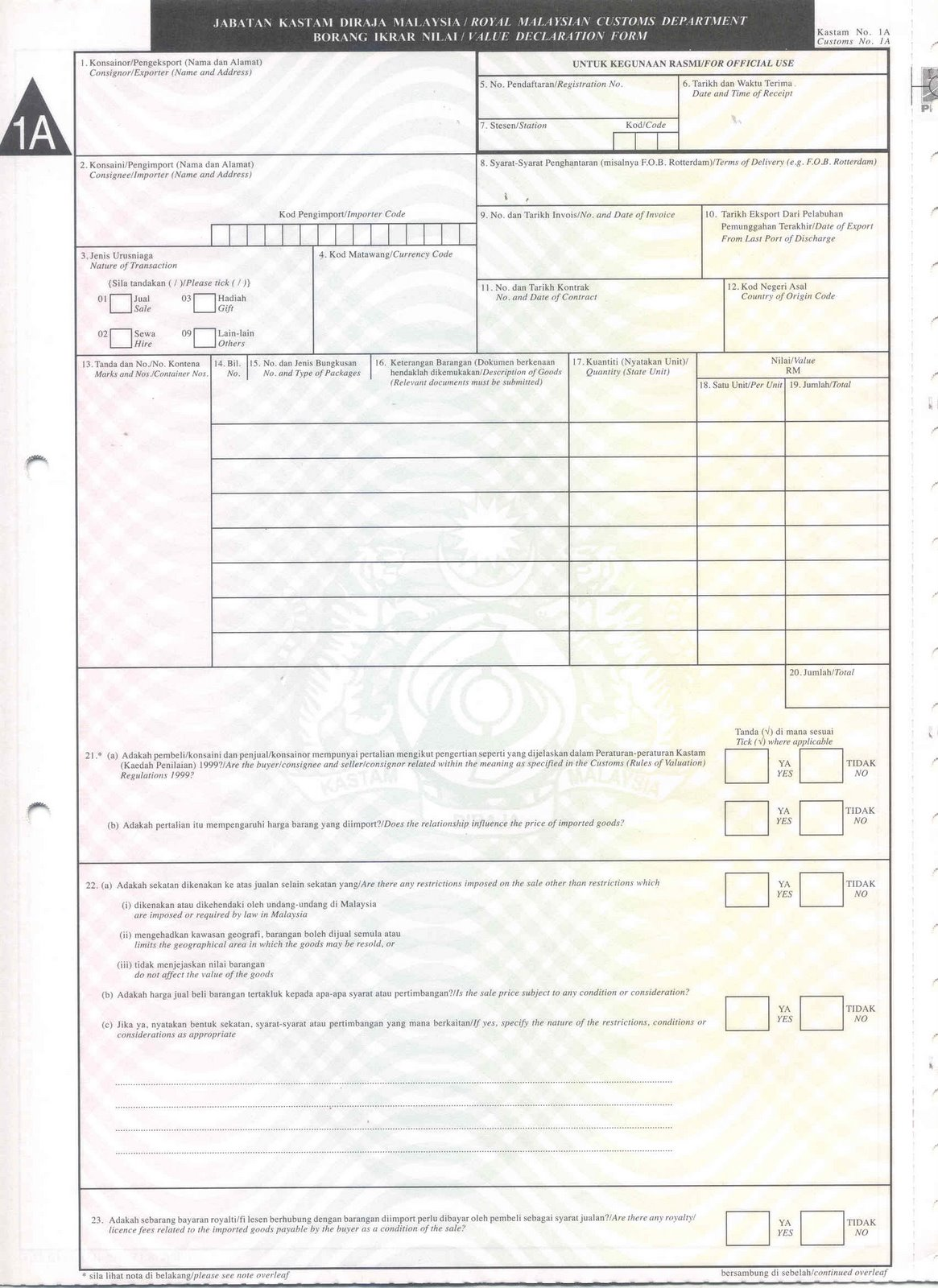 54 INFO SAMPLE K2 FORM MALAYSIA DOWNLOAD PDF DOC ZIP