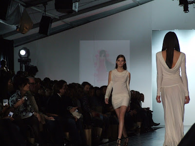 Evan Biddell collection at LO'real fashion week in Toronto