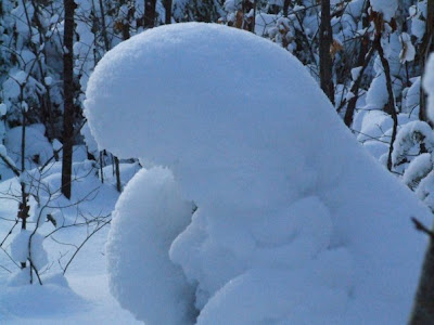 picture of snow woman