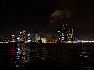 photograph of the city of Detroit, Michigan
