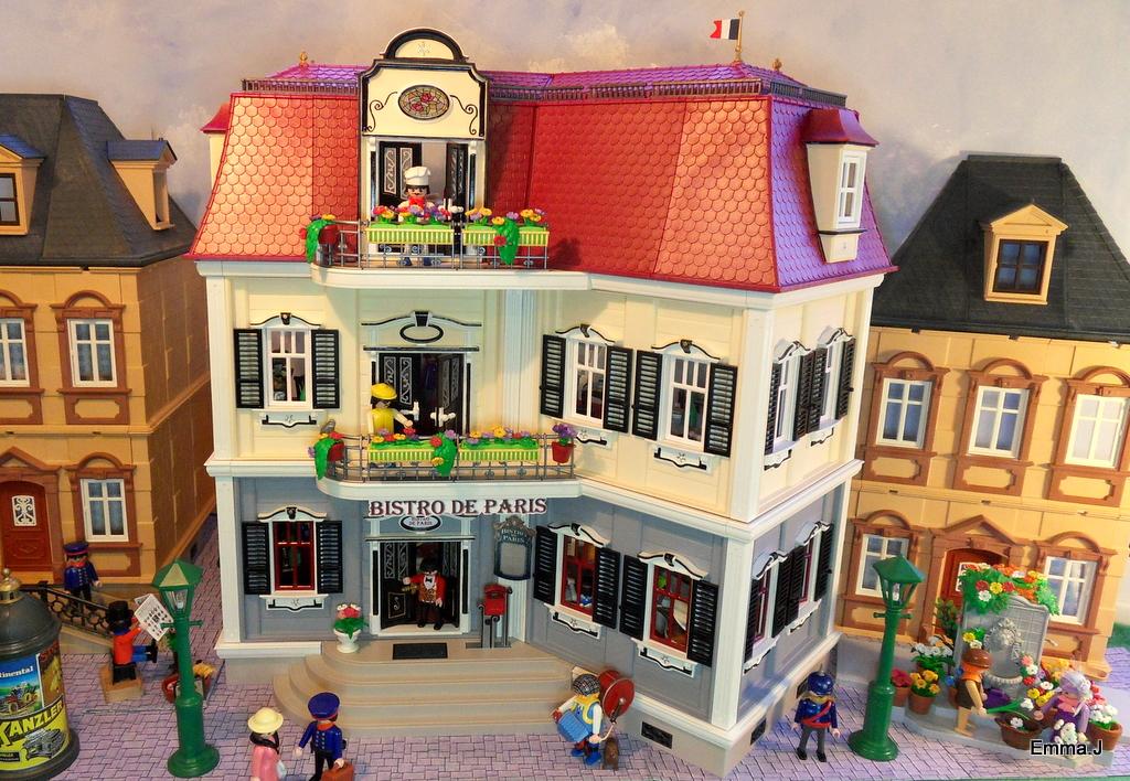5302 bistro de paris emma j 39 s playmobil for Mansion de playmobil