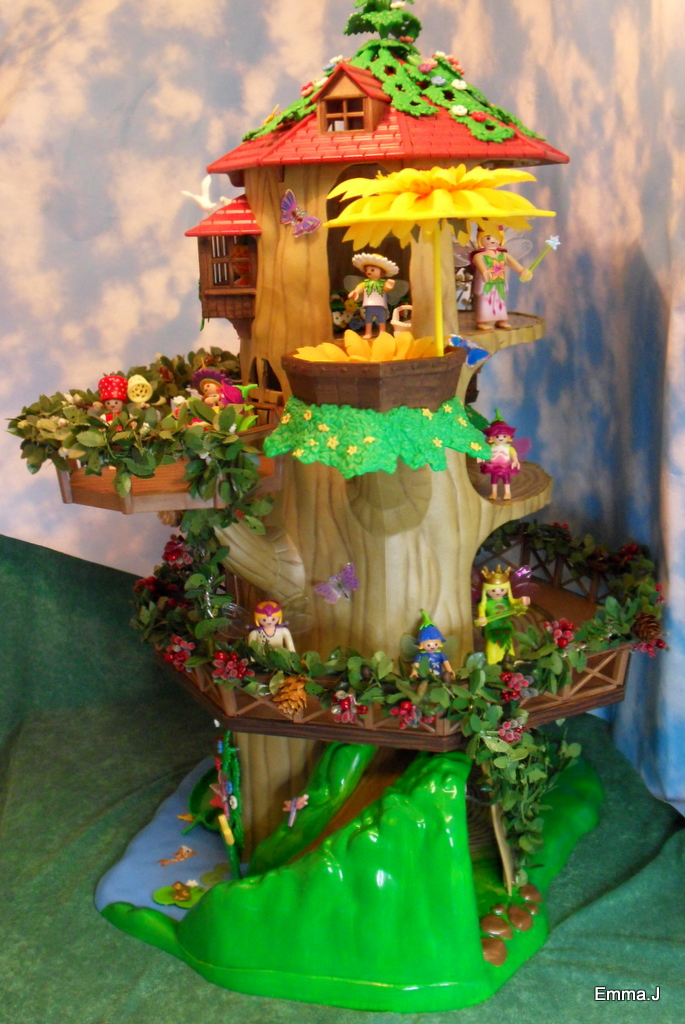 Trap Ladder Fairy Tree Houses | Emma.j's Playmobil