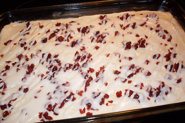 Cranberry Bliss Bars, homemade in your own kitchen