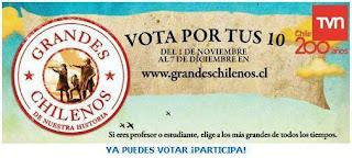Ir a Grandes chilenos.cl