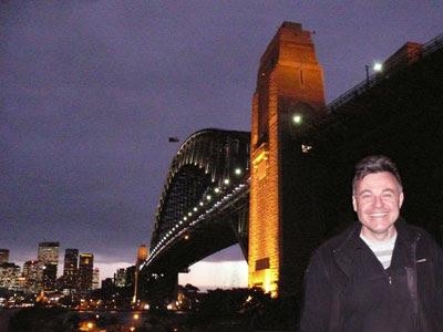 Strewth! The Sydney Harbour Bridge & some crazy blogger
