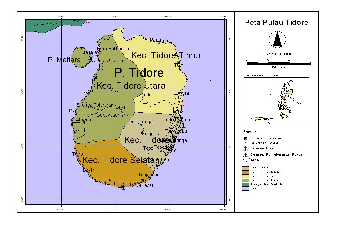 pulau kecilku: Profil Pulau Tidore