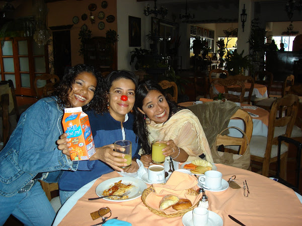 Erendida, Nati y Laura...