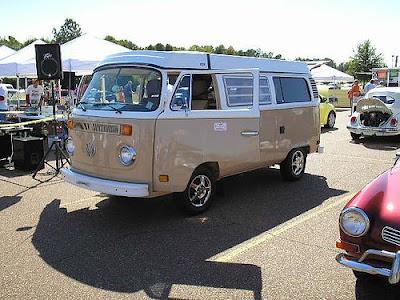 The Volkswagen Type II Split-Screen Camper