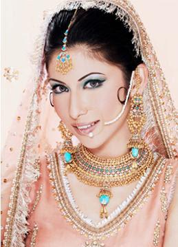 مكيآج هندي مآشي حـآلو :) desi-bridal-