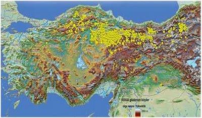 Kırım Kongo Kanamalı Ateşi - Kene Risk Haritasi