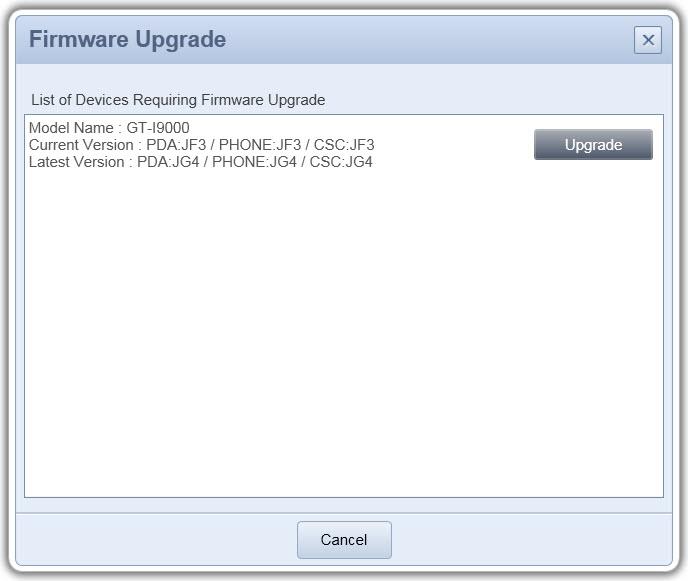 Cara Update Firmware Ponsel Samsung Galaxy S