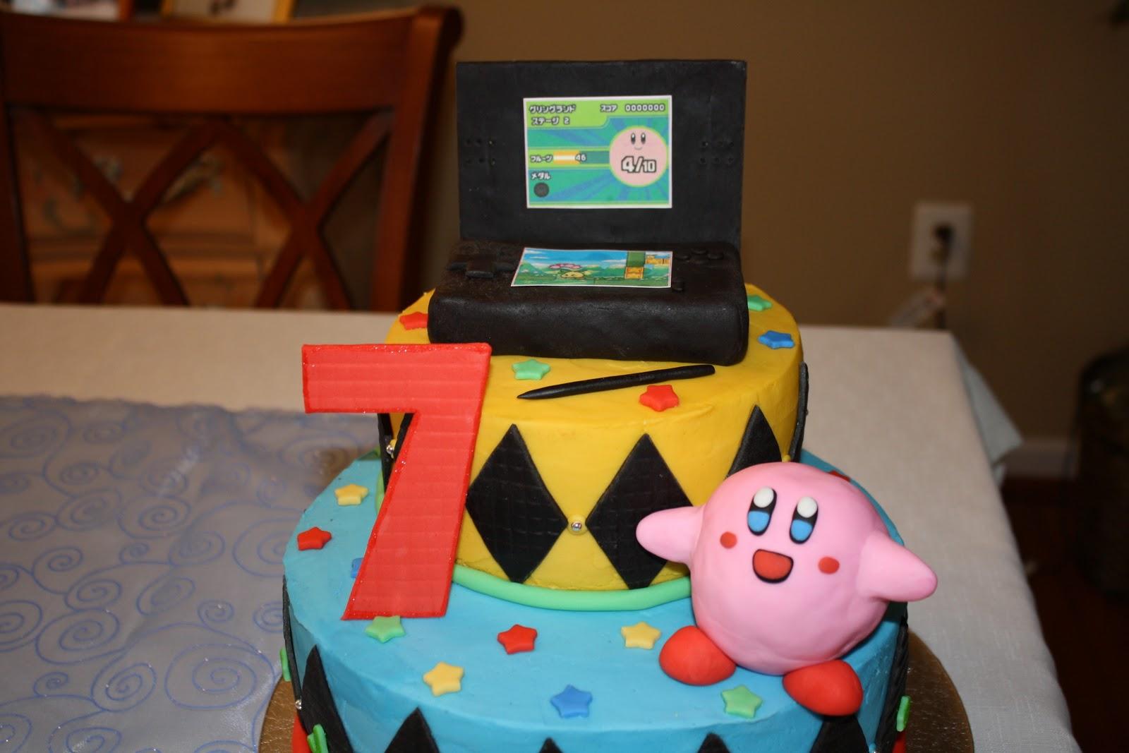 Dazzle Cakes Kirby Cake