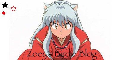 Zoey's Birdie Blog