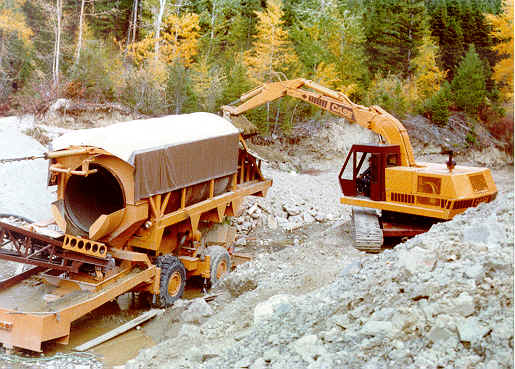 Gold Mining Equipment ~ Prospecting For Gold