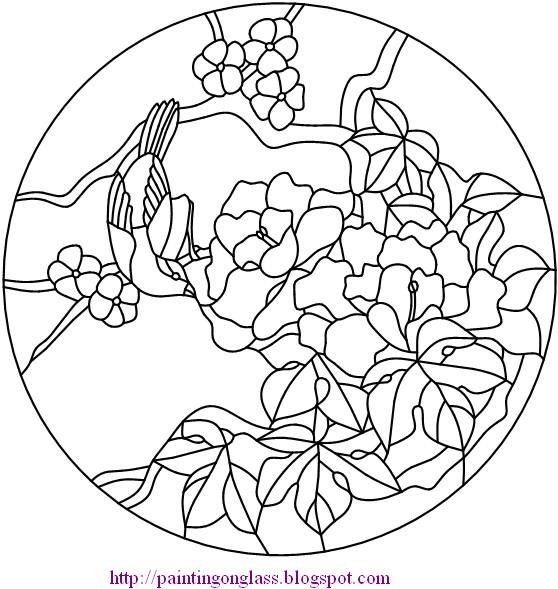 FREE GLASS PAINTING PATTERNS « Free Patterns