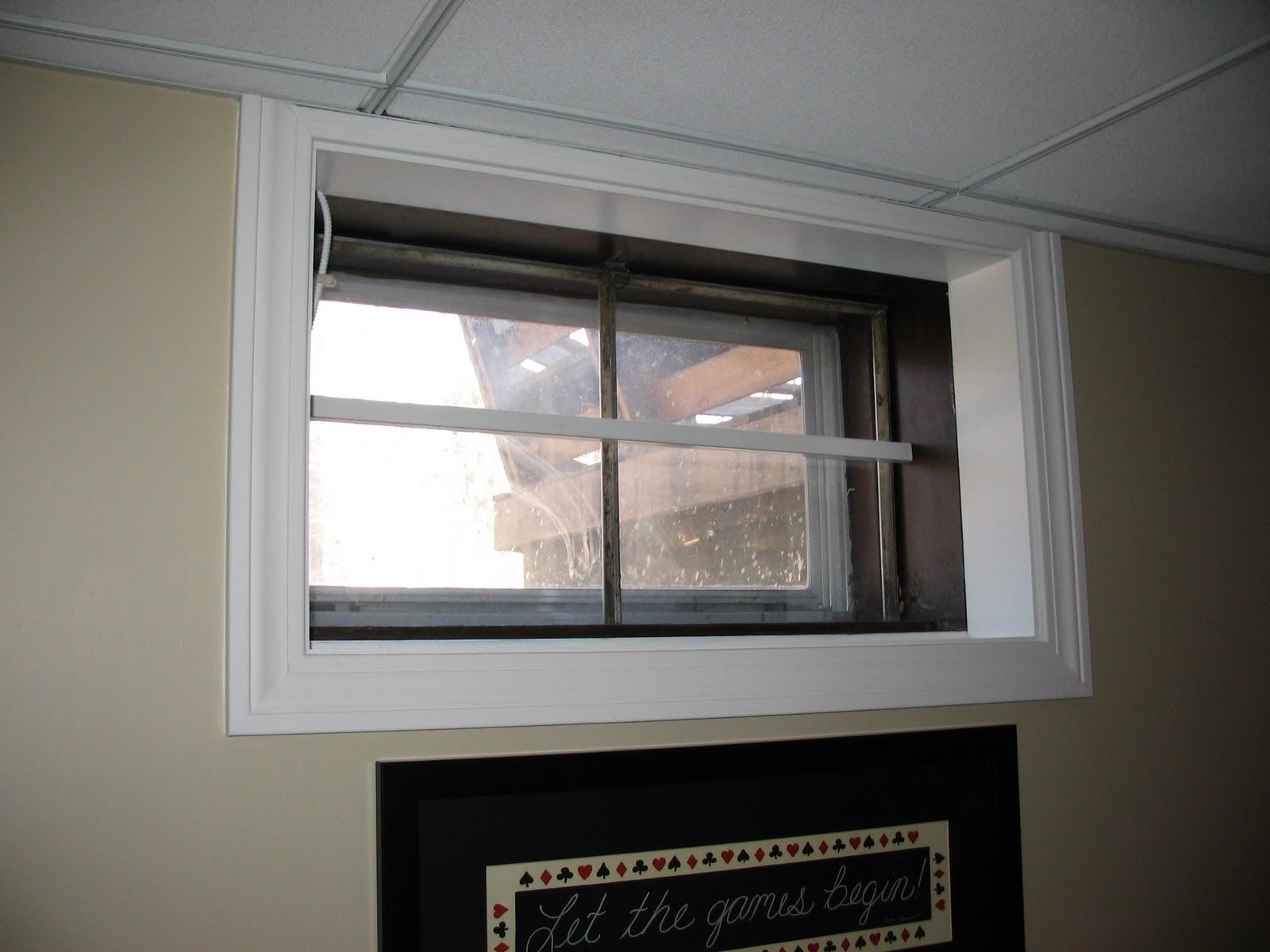 Basement Remodeling Ideas: Basement Window Treatments