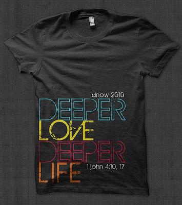 Disciple Now T-shirt Design