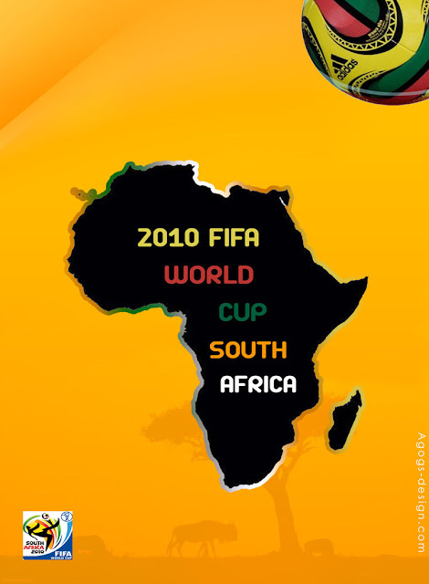 world cup 2010 south africa poster design by agogsdesign