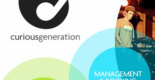 Curious Generation web design