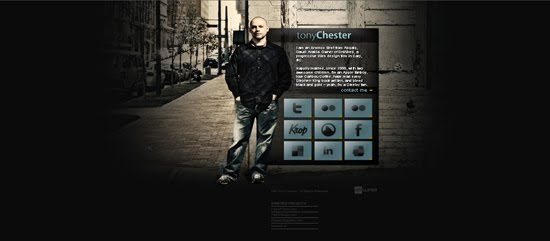 Tony Chester portfolio design