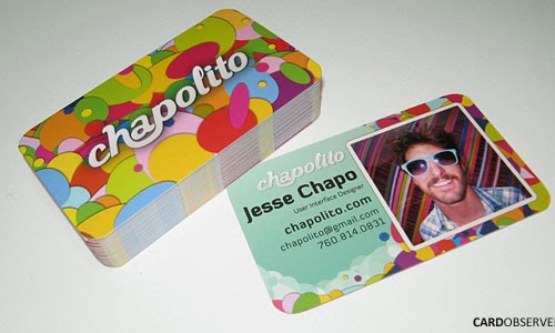 Chapolito Web Design business card