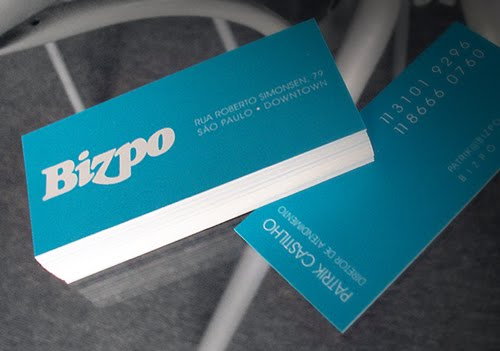 BIZPO business card design