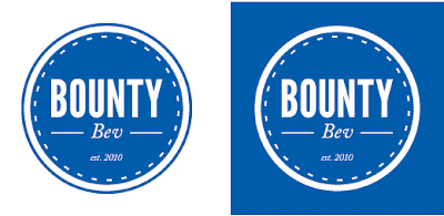 The Bounty Bev Logo Design Process