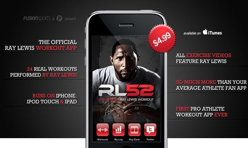 The Official Ray Lewis Workout App