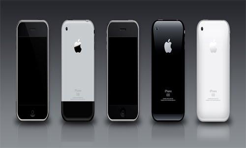 iPhone 3G-3GS PSD