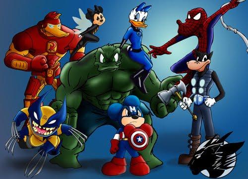 isney Avengers Assemble