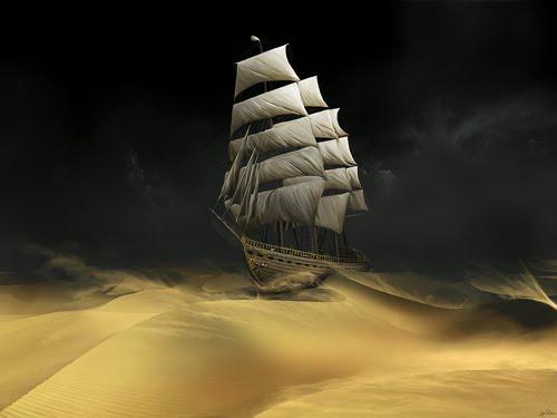 Sailing The Desert
