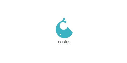 castus logo design